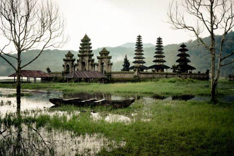 Danau Tamblingan di Kabupaten Buleleng, Bali.