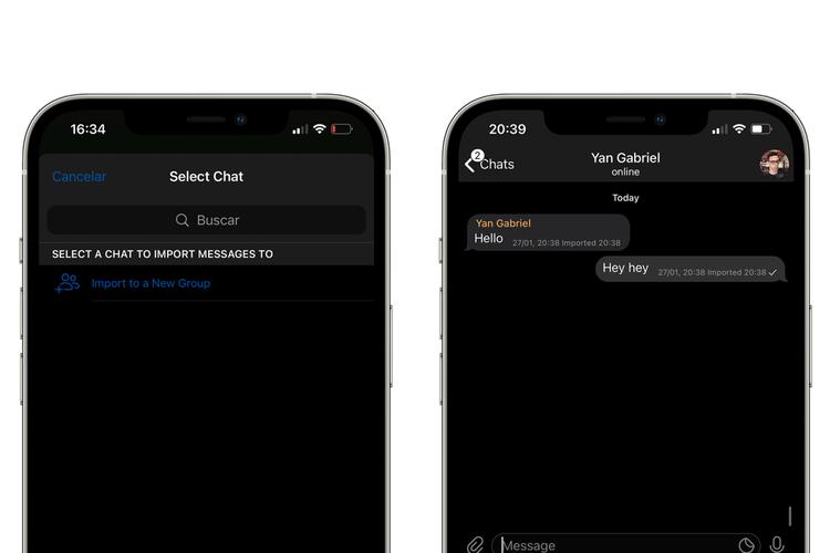 Fitur baru Telegram yang memungkinkan penggunanya dapat mengimpor obrolan dari aplikasi WhatsApp