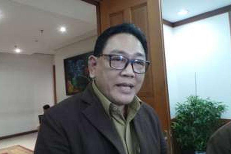 Kepala Dinas Pendidikan DKI Jakarta, Sopan Adrianto, di Balai Kota DKI Jakarta, Rabu (2/11/2016).