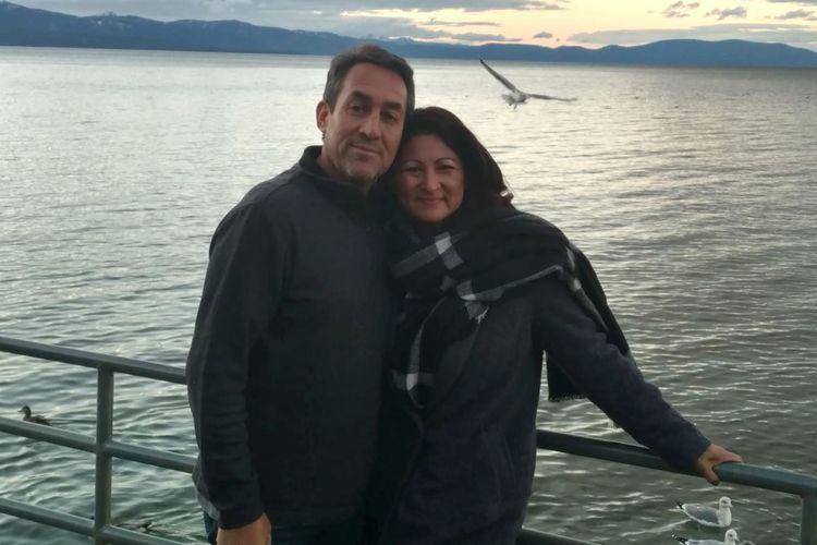 Bill dan Elena Rodriguez, setelah mengurani berat badan total mencapai 58,9 kilogram.