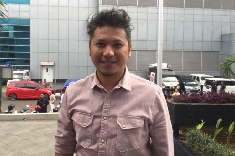 Gading Marten saat ditemui di Studio Trans TV, Mampang, Jakarta Selatan, Jumat (15/12/2017).
