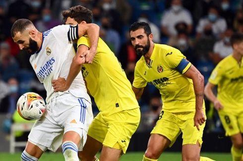 Hasil Real Madrid Vs Villarreal - Benzema Tumpul, Los Blancos Tertahan
