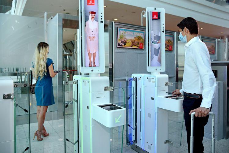 Jalur biometrik dari Emirates