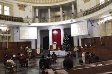 Misa Natal di Gereja Immanuel, Pendeta Doakan Jemaah yang Terpapar Covid-19