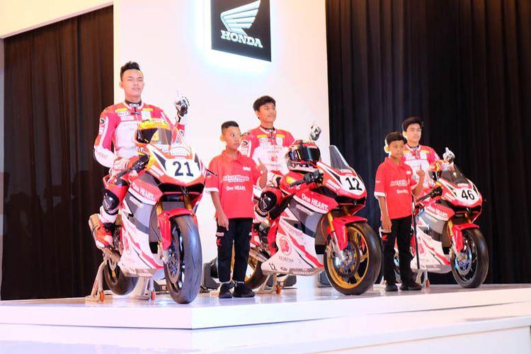 Enam pebalap AHRT yang akan berlaga di ajang balap 2020.