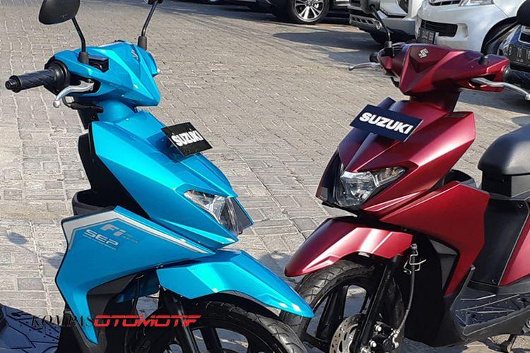 Suzuki Nex II dengan warna baru
