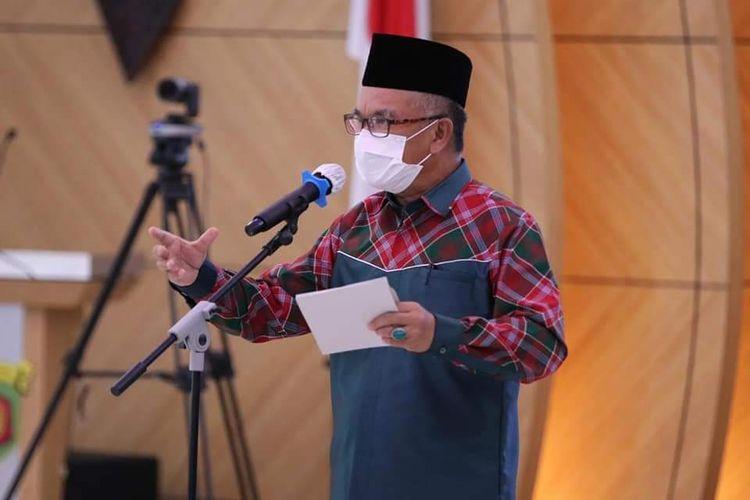 Wali Kota Samarinda Sjaharie Jaang.