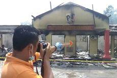 Ini Dugaan Penyebab Kebakaran di Mapolres Ogan Ilir