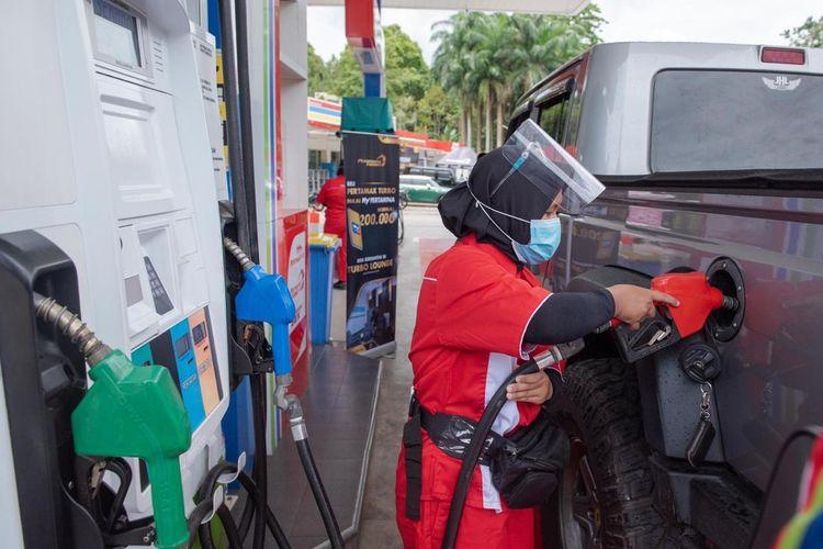 Diskon  Rp 250 per liter Pertamax Series
