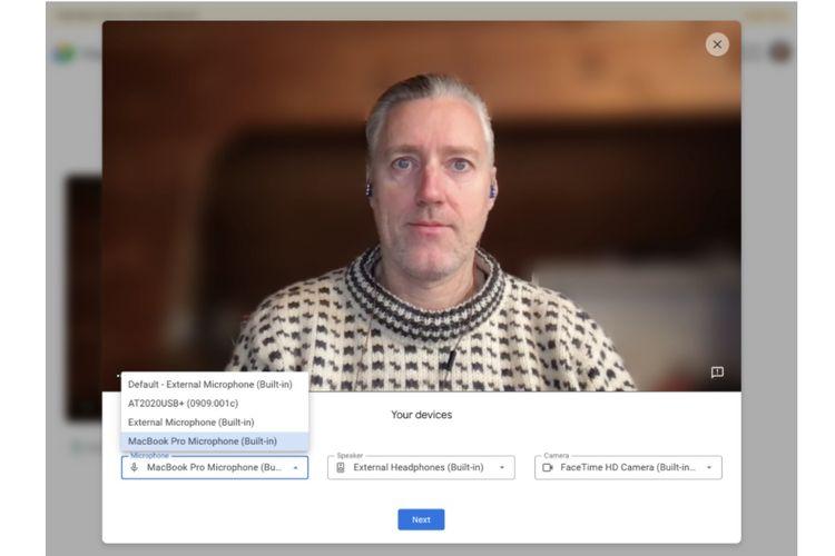 Fitur Green Room di aplikasi Google Meet