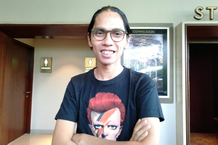 Sutradara Angga Dwimas Sasongko saat ditemui di Epicentrum, Jakarta Selatan, Selasa (26/11/2019)