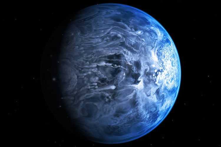 Planet HD 189733b.