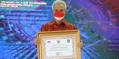 Jateng Quattrick Jadi Provinsi Terbaik TLHP, Ganjar: Penting untuk Good Governance