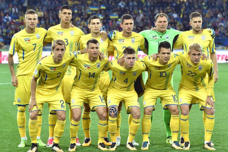 Timnas Ukraina di Kualifikasi Piala Dunia 2018