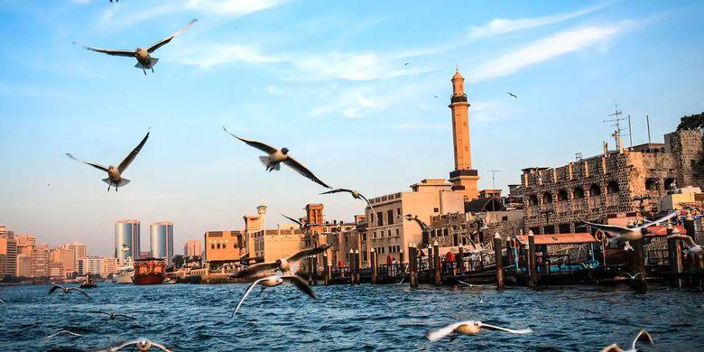 Tempat wisata bernama Bur Dubai di Dubai, Uni Emirat Arab.