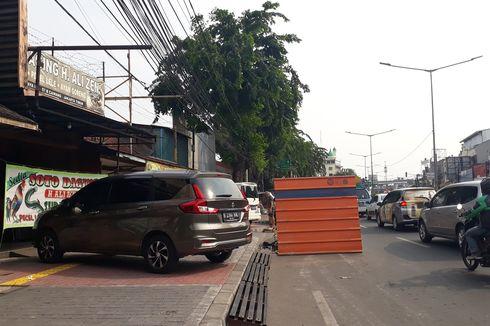 Trotoar Jalan Raya Otista Diokupasi PKL, Satpol PP Mengaku Kekurangan Personel