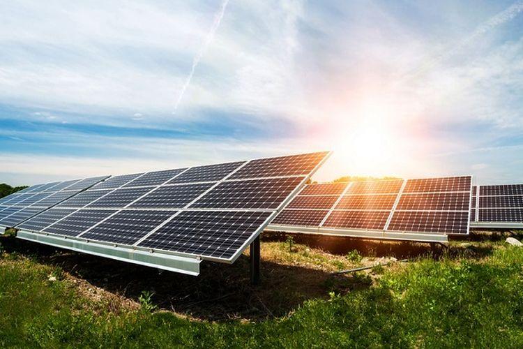 Ilustrasi pemanfaatan energi surya atau matahari