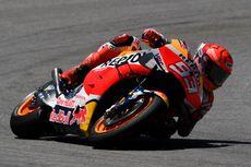 Marquez Lupakan Gelar Juara Dunia Usai Jatuh Dua Kali di GP Perancis