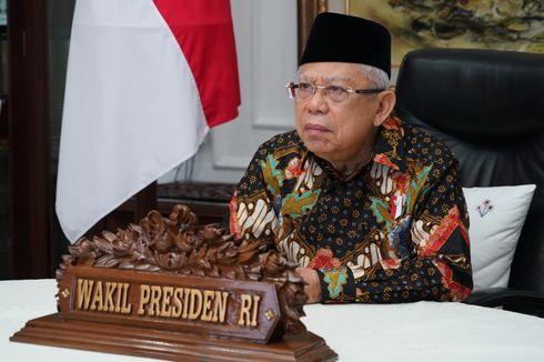Wapres Ma'ruf Amin Minta Tak Berkecil Hati Hadapi Pandemi