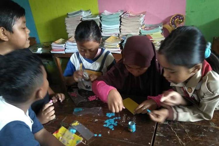 Salah satu praktik baik Merdeka Belajar di salah satu SDN Kendal, Jawa Tengah