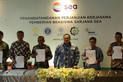 SEA Umumkan Penerima Beasiswa untuk Kembangkan Ekonomi Digital