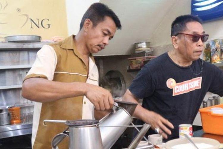 Kedai kopi Kim Teng di Pekanbaru.