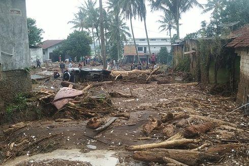 2 Korban yang Terseret Banjir Bandang Sukabumi Ditemukan di Sungai