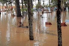 Sungai Citanduy Meluap, Ratusan Makam hingga Puskesmas di Tasikmalaya Terendam Banjir