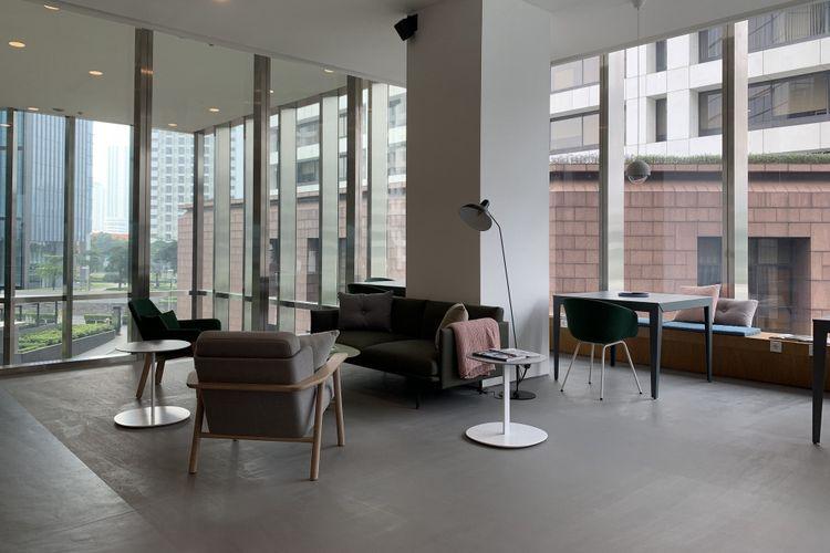 Coworking Spaces, WTC 3, Jakarta.