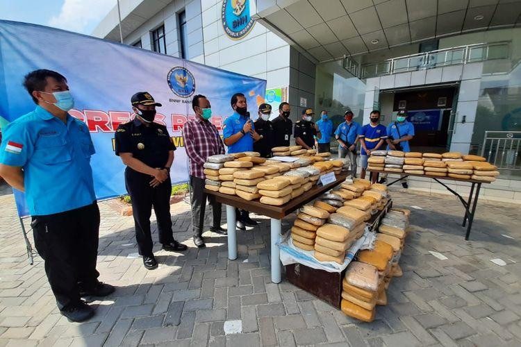 BNNP Banten gagalkan penyelundupan ganja sebanyak 301 kilogram