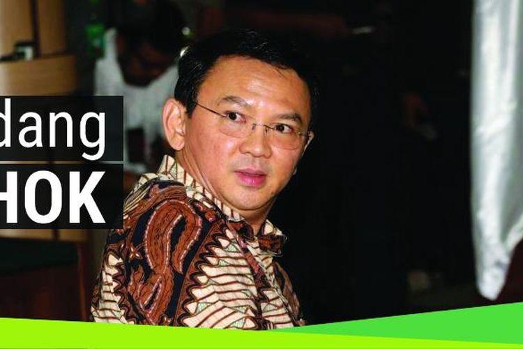 Gubernur nonaktif DKI Jakarta Basuki Tjahaja Purnama berada di ruang sidang PN Jakarta Utara, Selasa (13/12/2016).