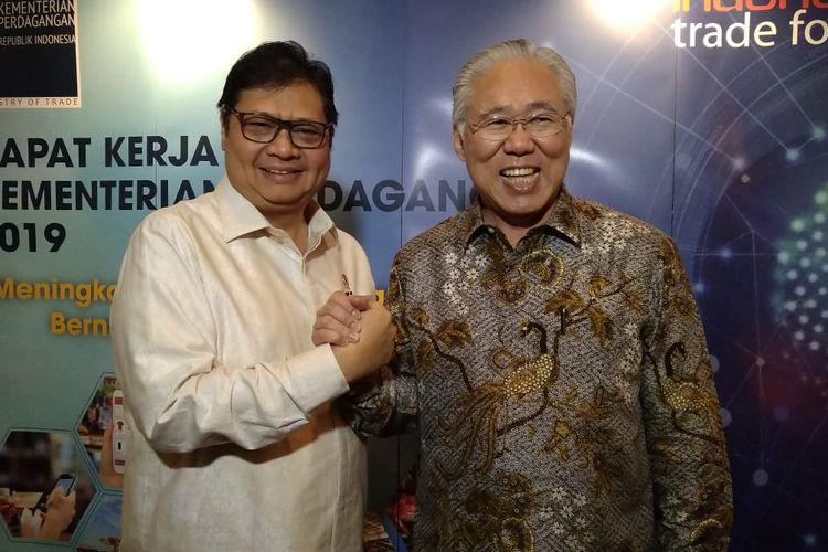Menteri Perindustrian dan Menteri Perdagangan dalam Rapat Kerja, Rabu (13/3/2019)