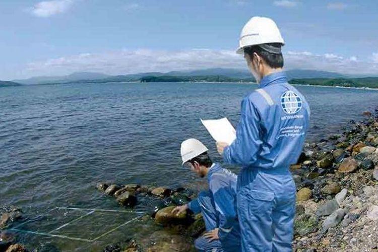 Ilustrasi pekerjaan Surveyor Indonesia.