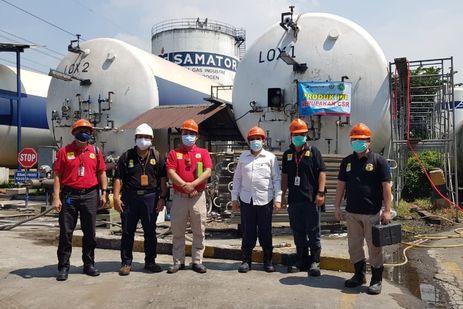 Demi Kelancaran Distribusi Oksigen, Kemenaker Awasi Operasi ISO Tank