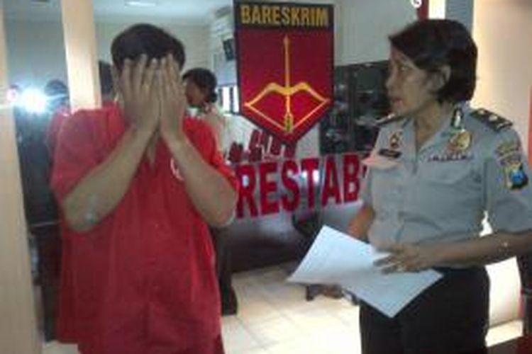 Pecatan TNI diamankan polisi karena aniaya istri.