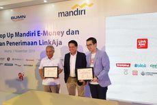 Bank Mandiri Kerja Sama dengan LinkAja untuk Perkuat Jaringan