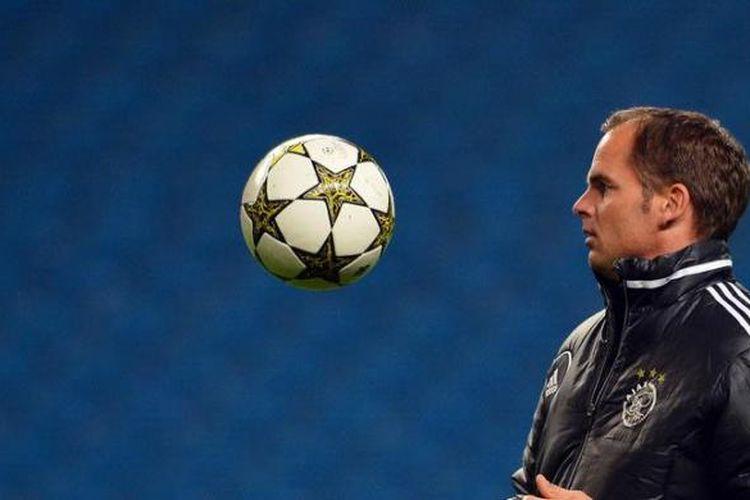 Pelatih Ajax, Frank De Boer.