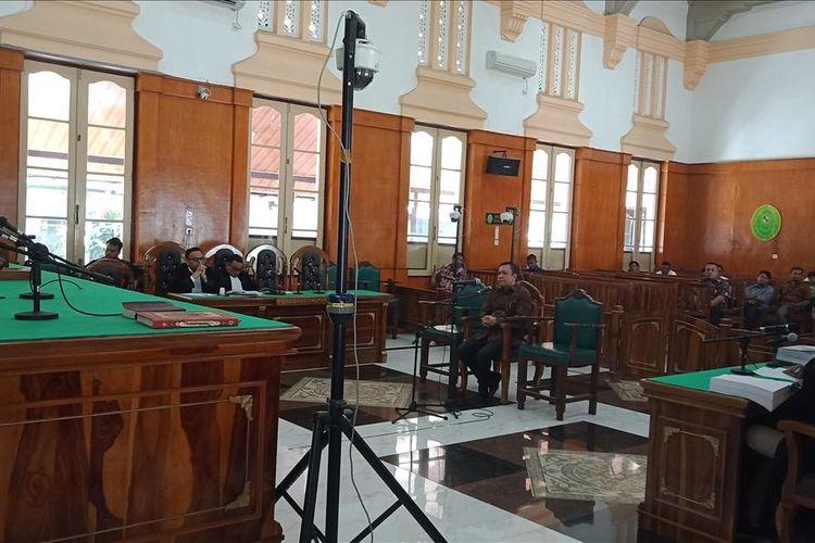 Bupati Pakpak Bharat Remigo Yolanda Berutu dituntut delapan tahun penjara di Pengadilan Tipikor pada PN Medan, Kamis (4/7/2019)