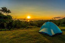 Ramai-ramai Camping di Puncak Bogor, Seperti Orang Dikurung Tiba-tiba Keluar