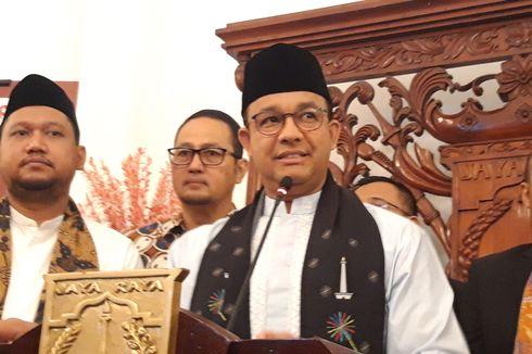 Anies Perintahkan Wali Kota Jaktim Perbaiki Trotoar Kalimalang yang Berada di Tengah Jalan