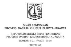 Cara Daftar PPDB 2020 SD dan Jadwal Jalur Afirmasi di DKI Jakarta