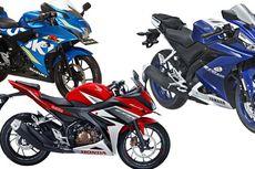 Adu Spesifikasi R15, CBR150R, dan GSX-R150
