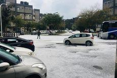 Berselimutkan Es, Delhi bak Kota London dan Chicago Saat Musim Dingin
