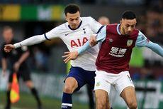 Hasil Burnley Vs Tottenham, Dele Alli Selamatkan Spurs
