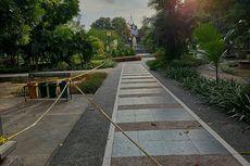Kasus Covid-19 Melonjak, Lapangan Puputan di Denpasar Kembali Ditutup