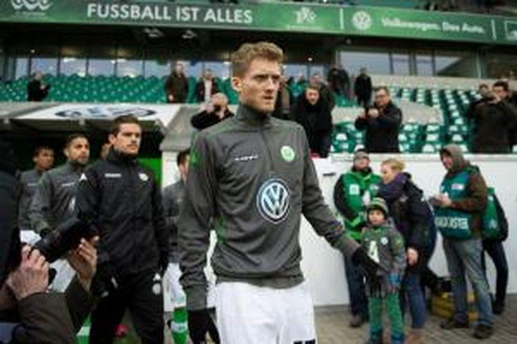 Gelandang Wolfsburg, Andre Schuerrle.