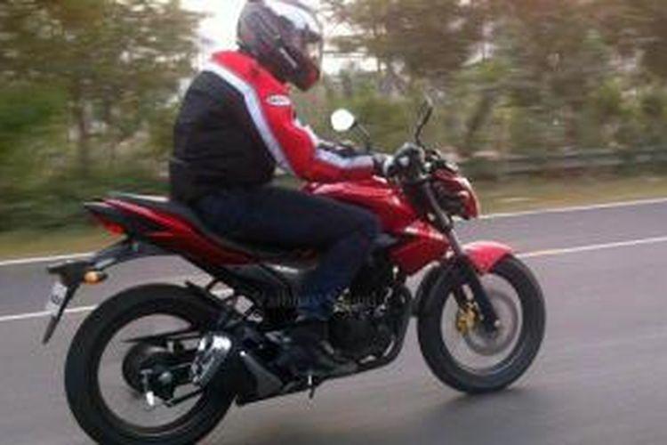 Suzuki Gixer, diduga kuat berkapasitas 150cc yang akan meluncur dalam waktu dekat.