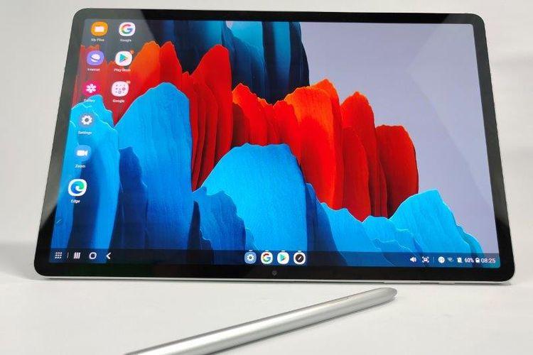Samsung Galaxy Tab S7 Plus dan stylus S Pen