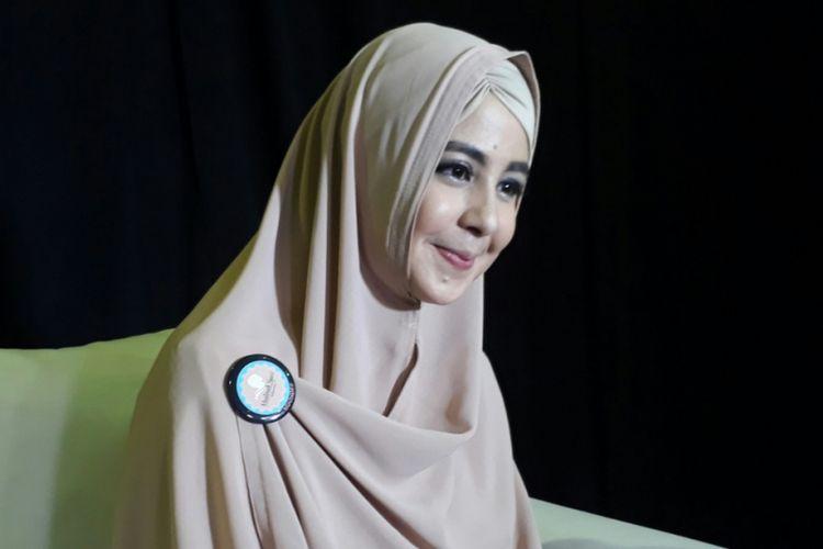 Risty Tagor ditemui dalam sebuah acara diskusi di Balai Kartini, Jakarta Selatan, Sabtu (21/10/2017).
