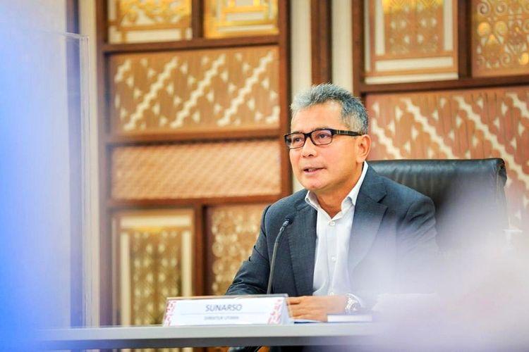 Direktur Utama (Dirut) Bank Rakyat Indonesia (BRI) Sunarso